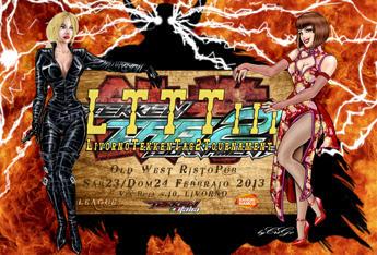 Flyer Torneo per Tek-Ita Namco