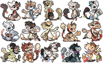 Bagbean gifties (+1 commission)