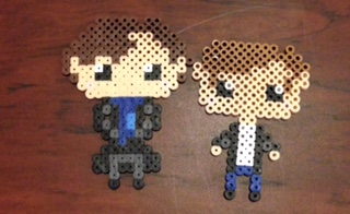 Chibi Sherlock and John (Sherlock) by GeekyAssassin31