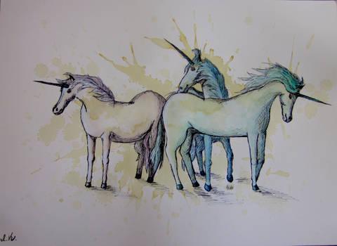 Coffee Blot Unicorns