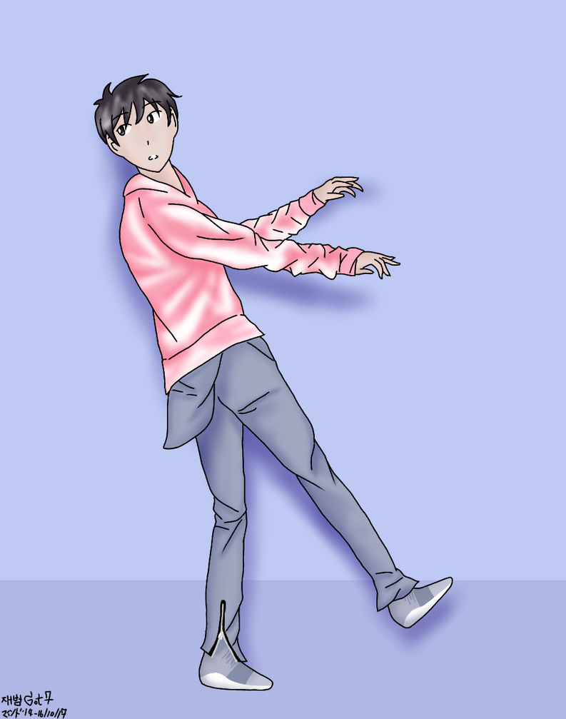 (Reposted FA) - Fly(JB of GOT7) by Nongmind