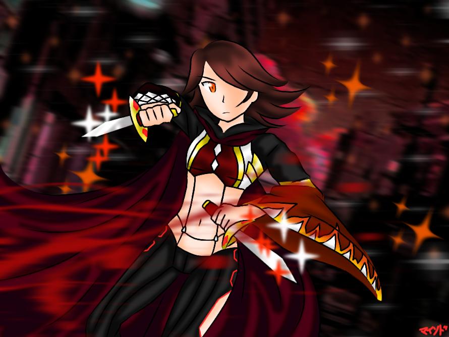 Fire Assassin Cross by Nongmind