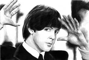 Paul McCartney by Dzuljet