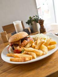 Homey lunch by imaginaryuser