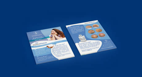 Flyer | A5 | aesthetic medicine clinic II by imaginaryuser