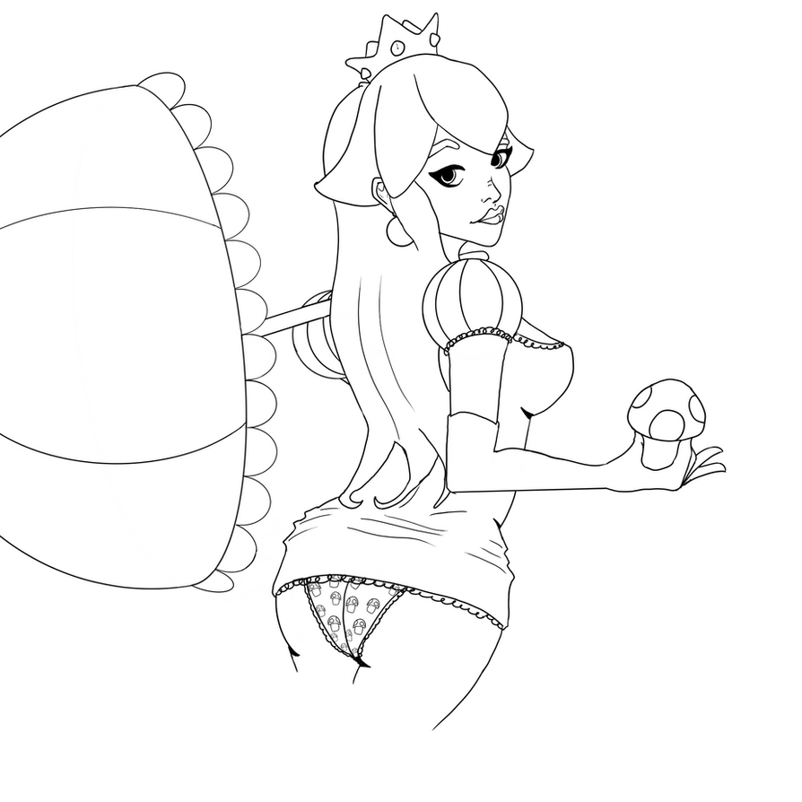 Sexy Princess Peach by ShieldCrush