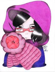 Sarada Uchiha by Zerozey