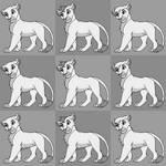 Simple Pixel Lion Base by WolvesWoodGlenAdopts