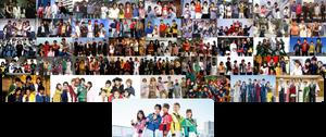 Super Sentai Group Collab