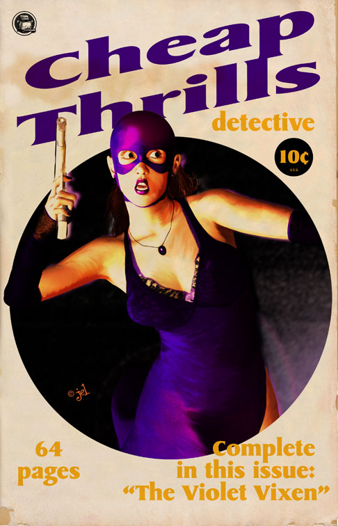 Cheap Thrills Detective cover by DoodleLyle