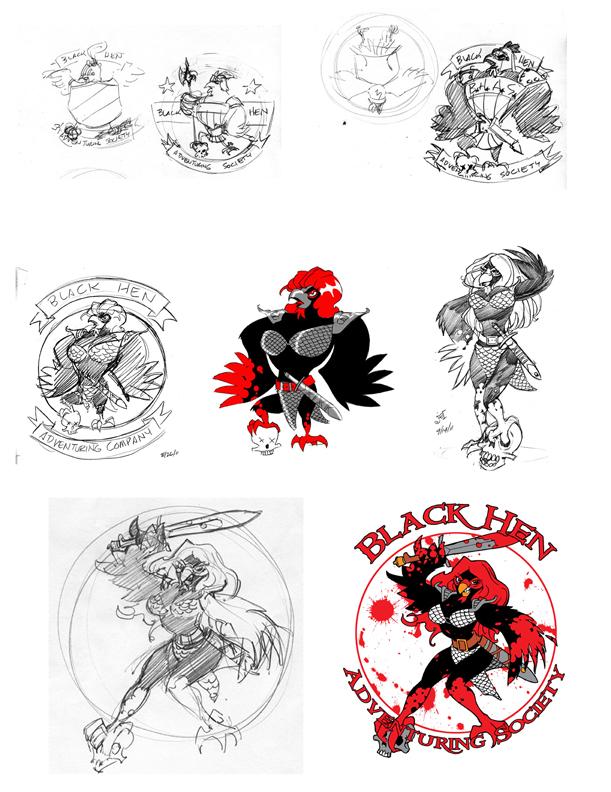 Blackhen by DoodleLyle