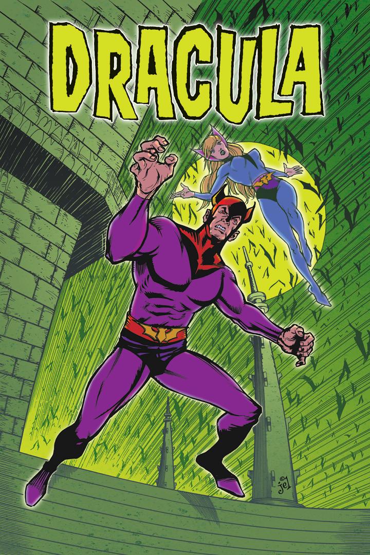 Dracula: Superhero by DoodleLyle