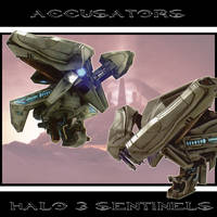 Halo 3 Sentinels by drskytower