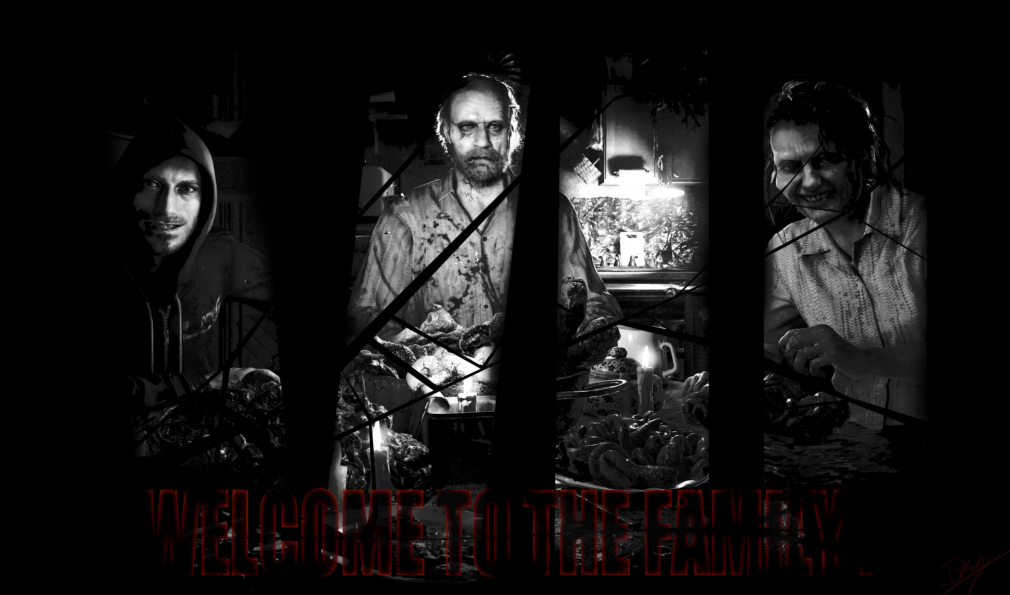 Resident Evil 7 Background Family By French97 On Deviantart
