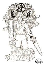 Legend of Zelda: Link Nouveau by scrum-yummy