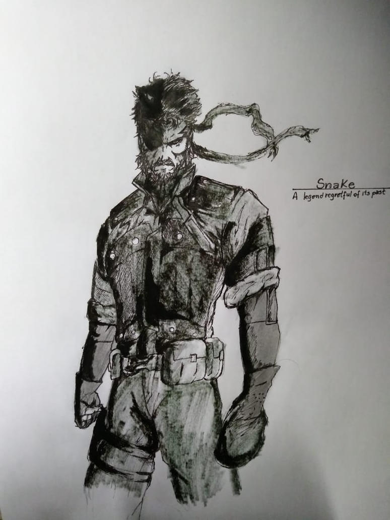 Big Boss - Metal Gear Solid Peace Walker by DarkIceXMK