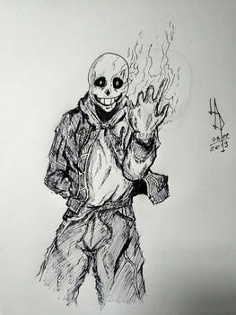 COMISSION - Bad Time Sans
