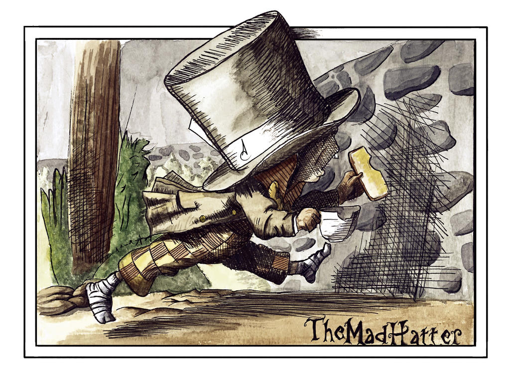 The Mad Hatter by Kyd-Lotus