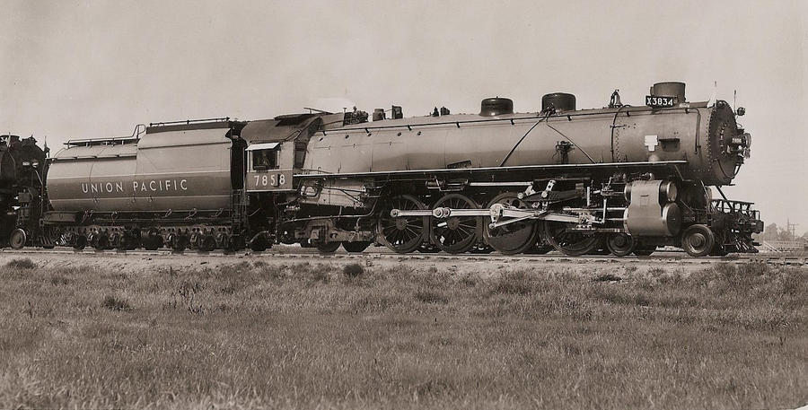 Union Pacific 4-8-2 no. 7858 by PRR8157