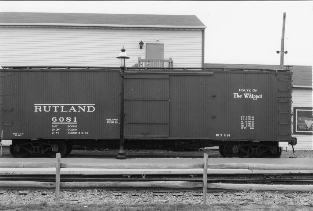 Rutland Boxcar by PRR8157