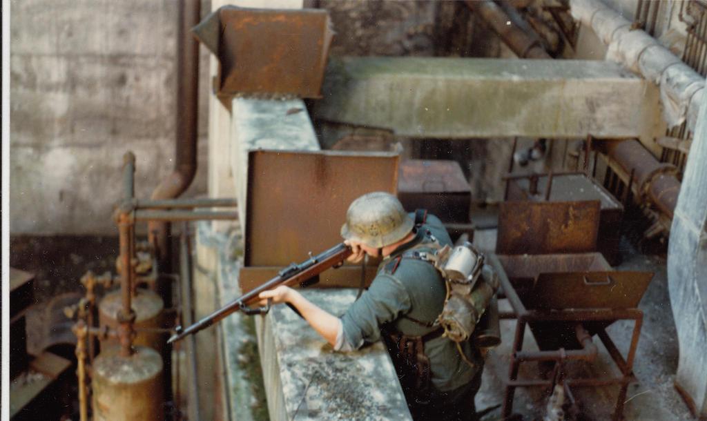 Factory Battle by PRR8157
