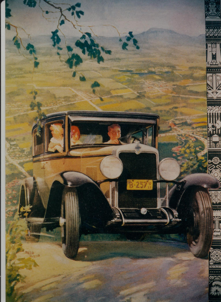 1929 Chevrolet Ad by PRR8157