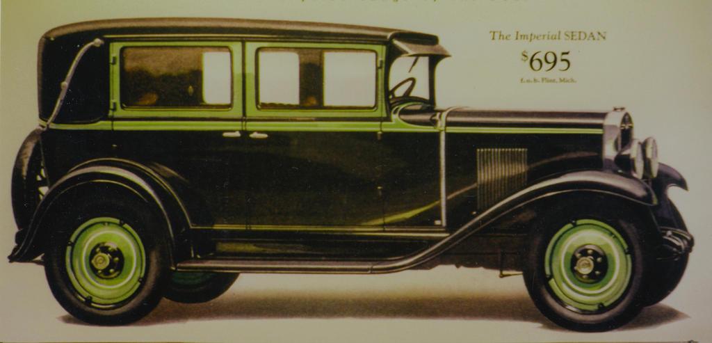 1929 Chevrolet Brochure Illustration by PRR8157