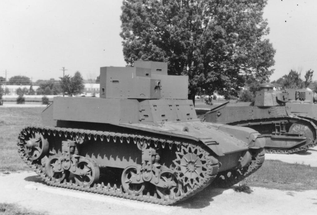 US army M2 (T2) Light Tank by PRR8157