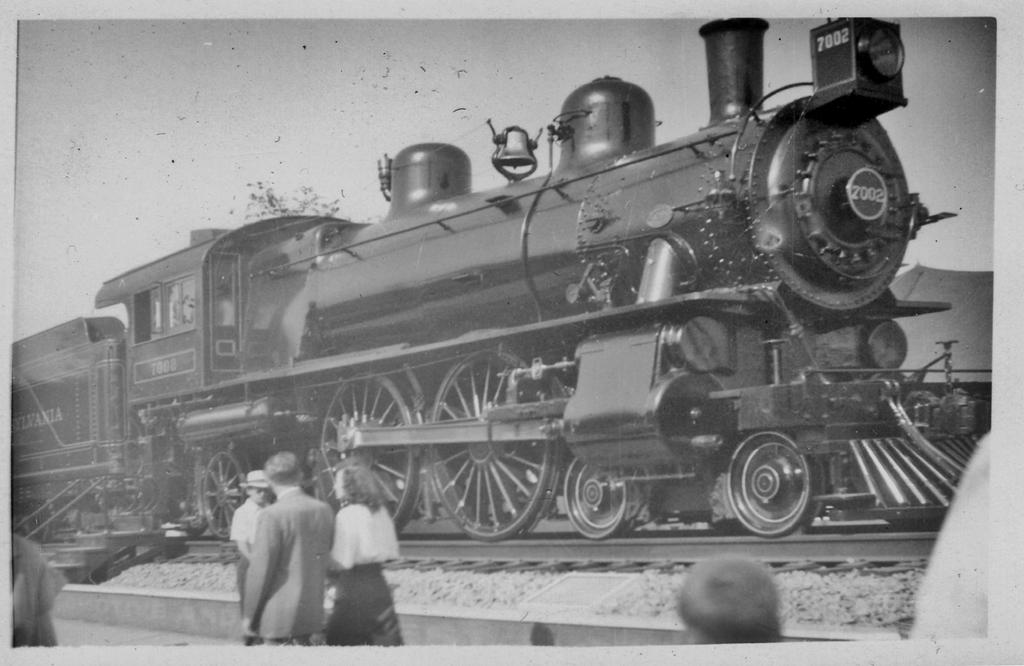 7002 at the Chicago Railroad Fair, 1948-9 by PRR8157