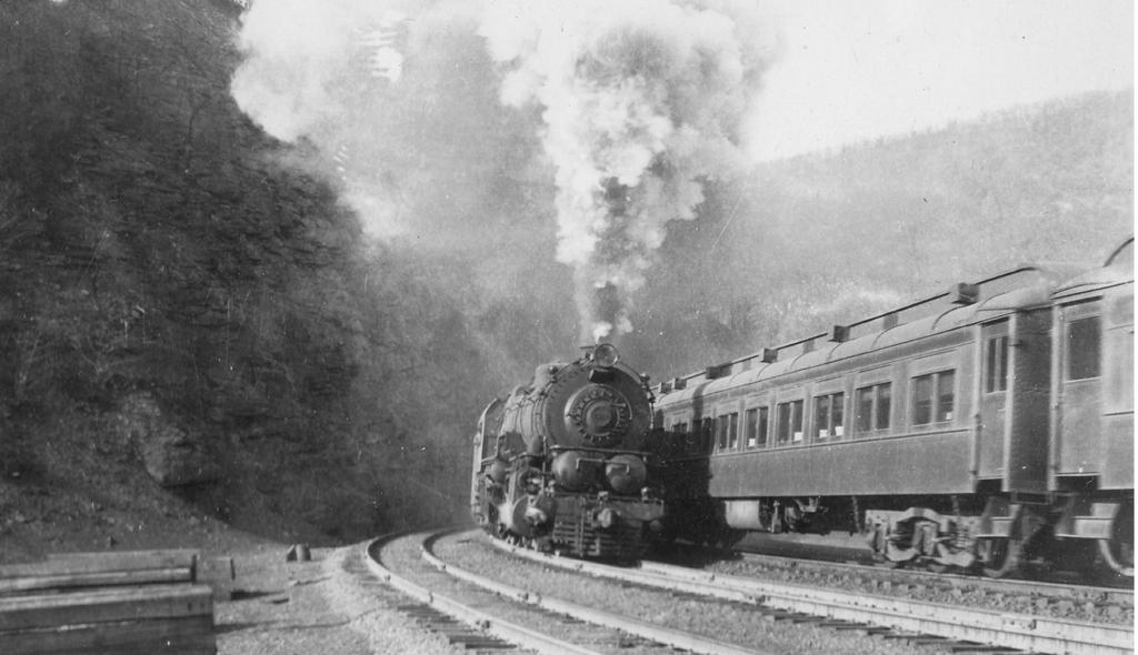 Decapod on Horseshoe Curve, 1920s by PRR8157