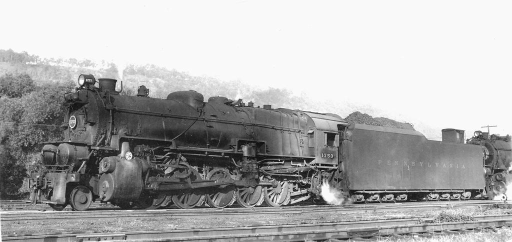 P.R.R. I.1.S Decapod #1753, 1950s by PRR8157