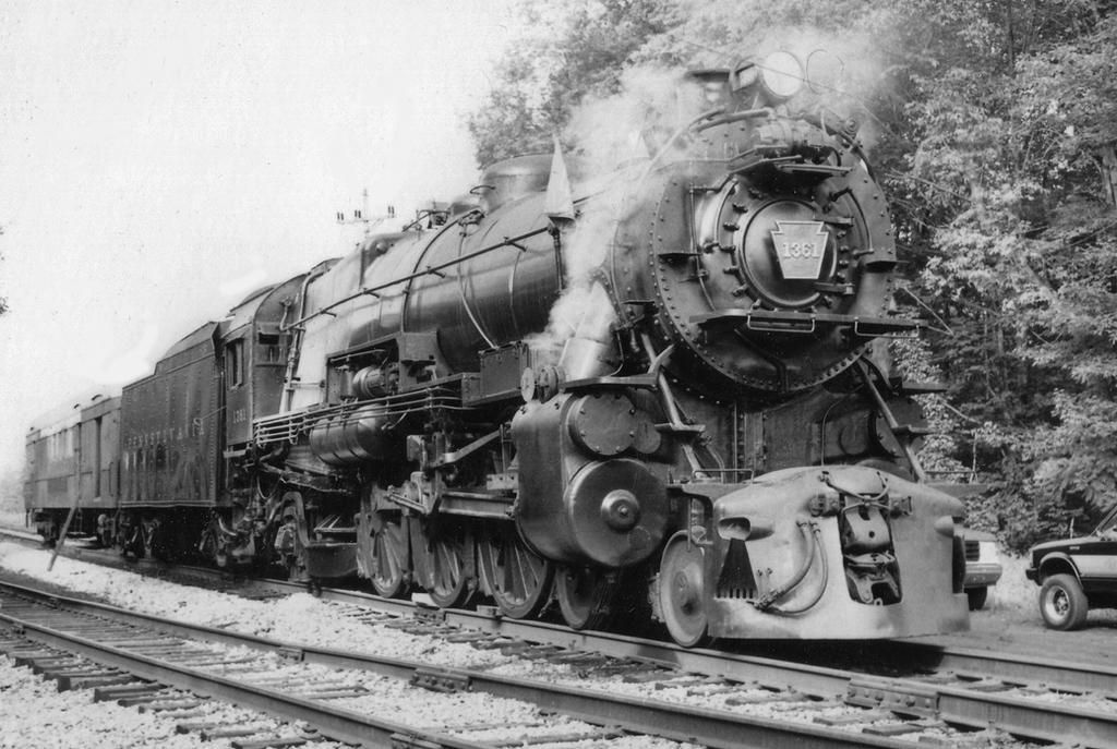 1361 under steam by PRR8157
