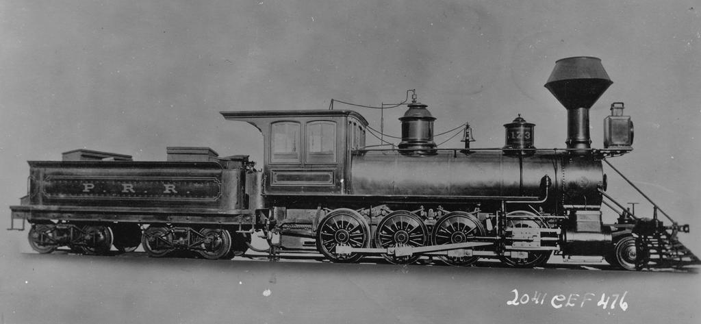 PRR Class I (H1) 2-8-0 by PRR8157