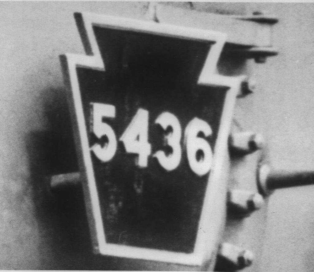 Keystone Number Plate by PRR8157