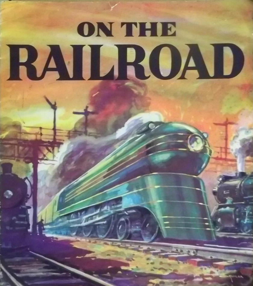 Otto Kuhler Cover Art - On The Railroad by PRR8157