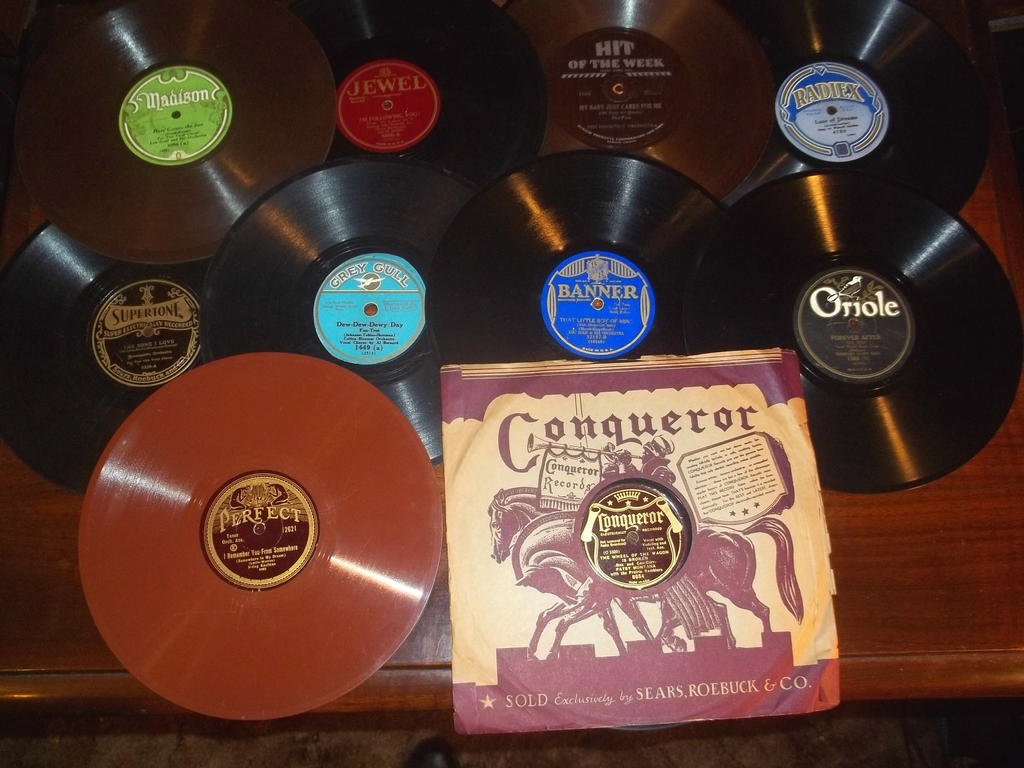 78RPM Reords, Budget Lables by PRR8157