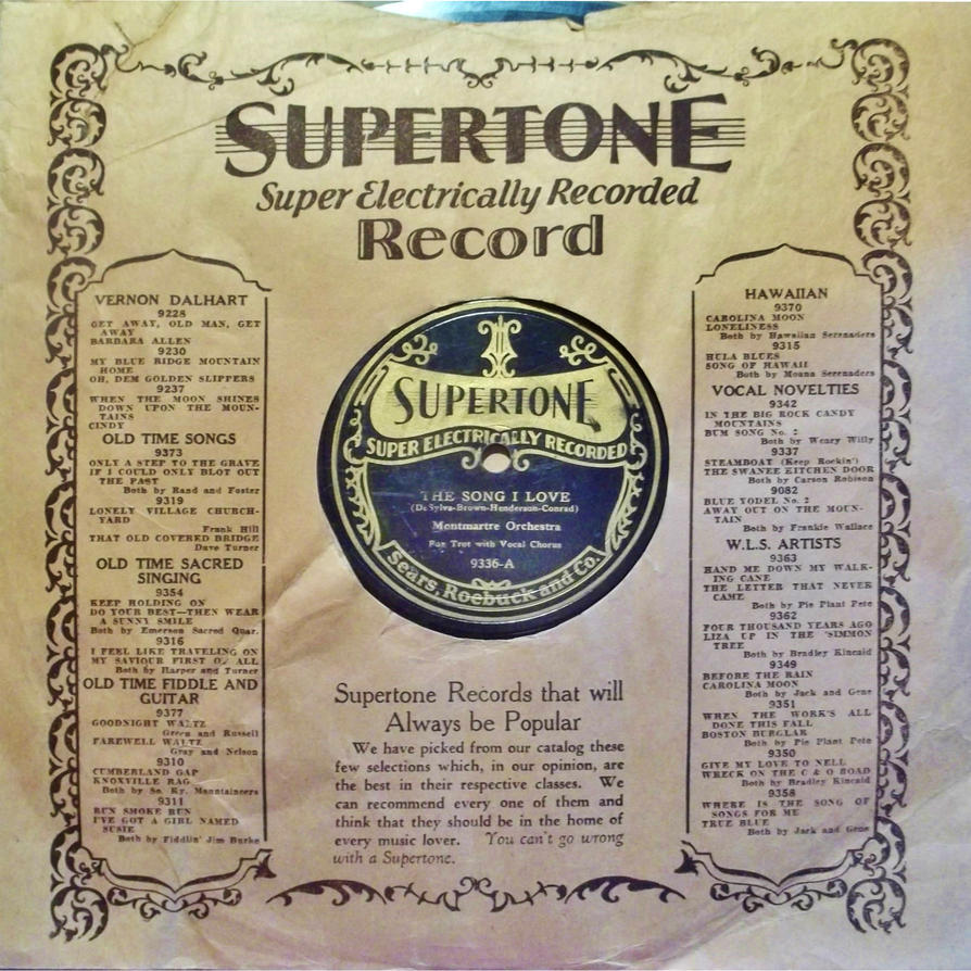 Supertone with Sleeve, A Side by PRR8157
