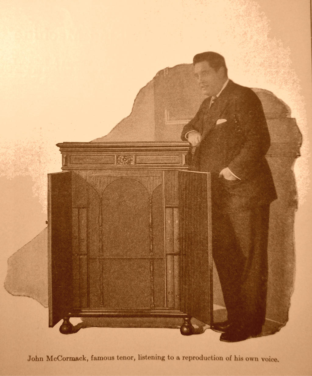 Famous John McCormack With Orthophonic by PRR8157
