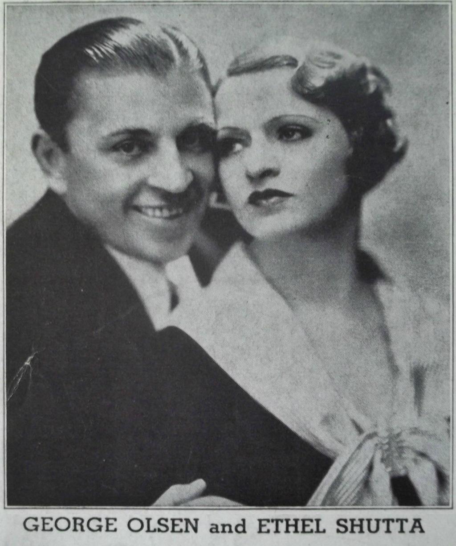 George Olsen and Ethel Shutta by PRR8157