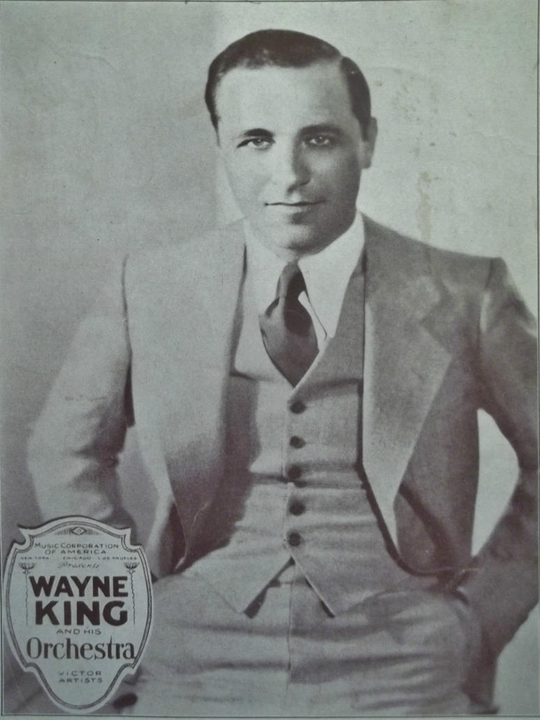 Wayne King, The Waltz King by PRR8157