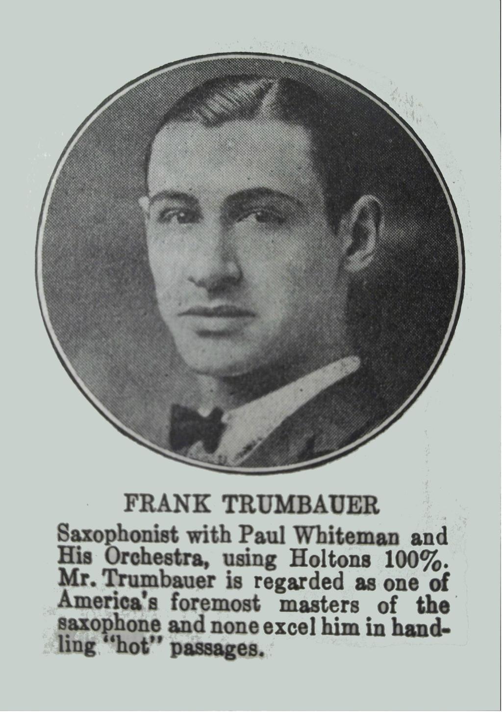 Frankie Trumbauer by PRR8157