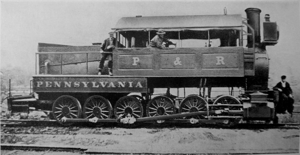 The Pennsylvania, James Millholland's 0-12-0 by PRR8157