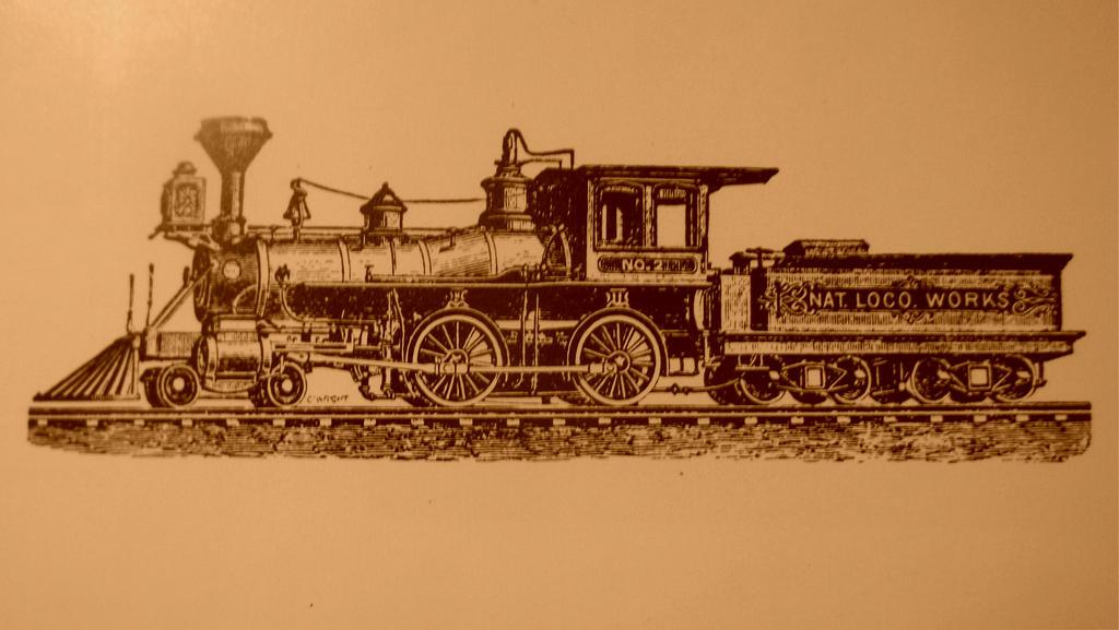 7829 National Locomotive Works 4-4-0 by PRR8157