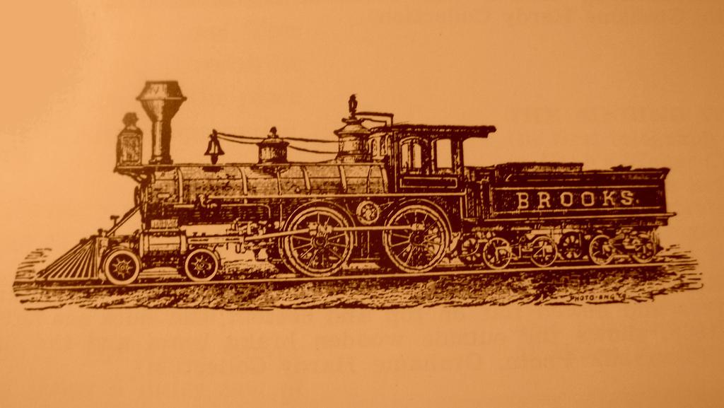 7836  Brooks 4-4-0 by PRR8157