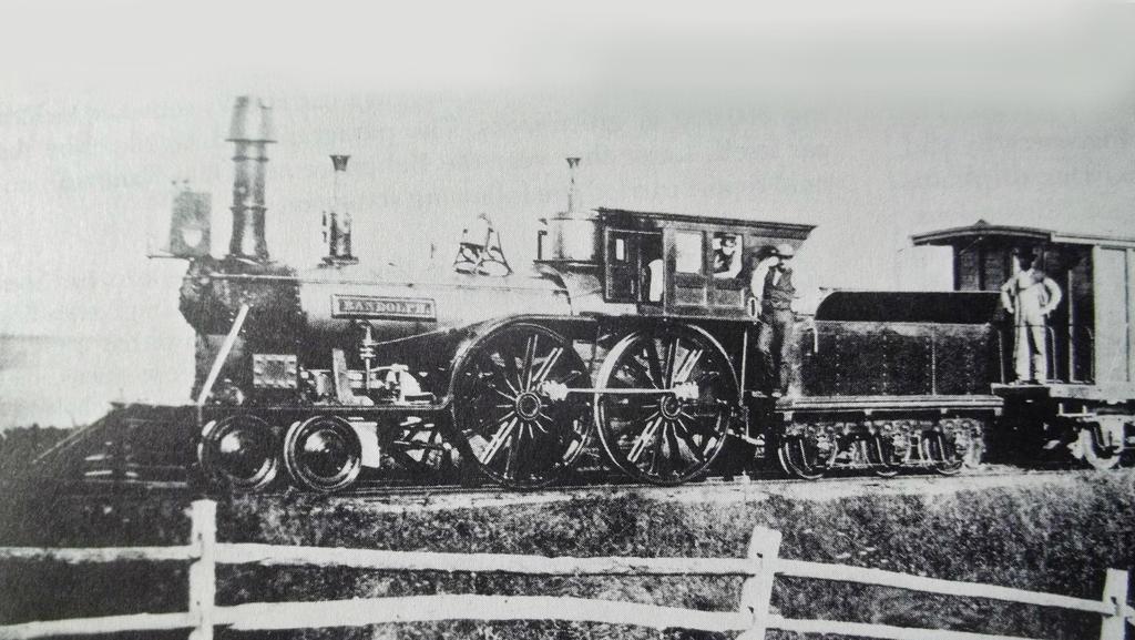 Randolf, an 1846 Hinckley by PRR8157