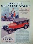 1928 Essex Super Six Ad