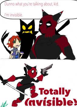 Okage/Deadpool crossover response