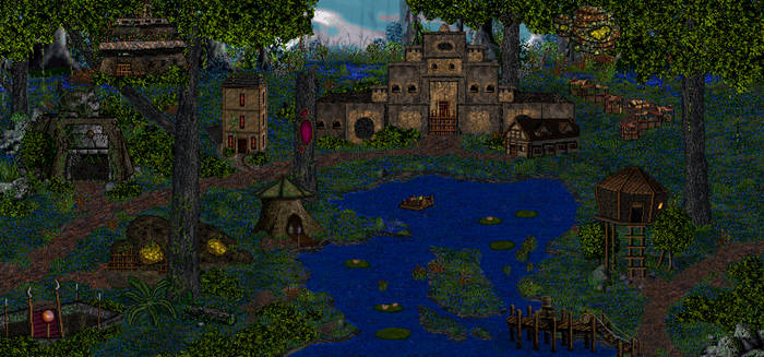 Fortress Townscreen Deviant art