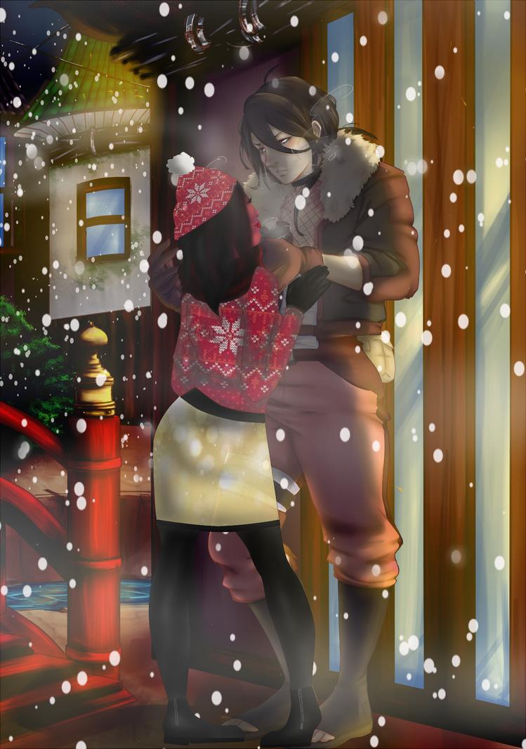 A Snowy Night by Niqua10023