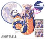[CLOSED] Adoptable - 043 [Purple Glare Vera]